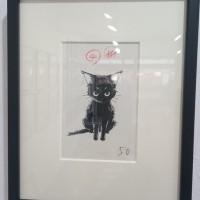 ①作品・黒猫